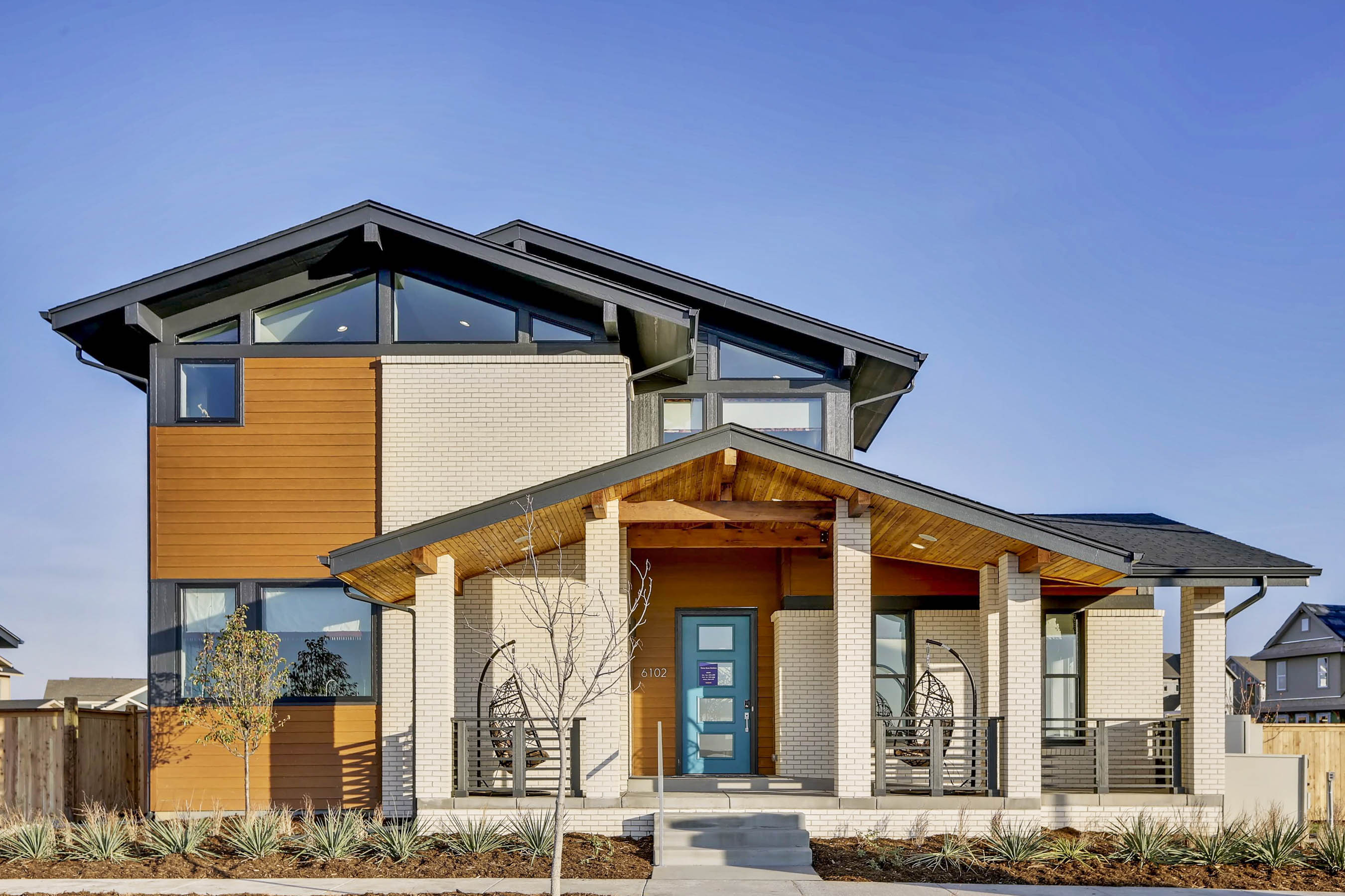 Mid-Century Inspired, New Luxury Homes for Sale in Denver on