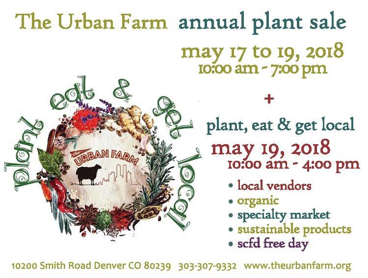 The Urban Farm Annual Plant Sale 2018