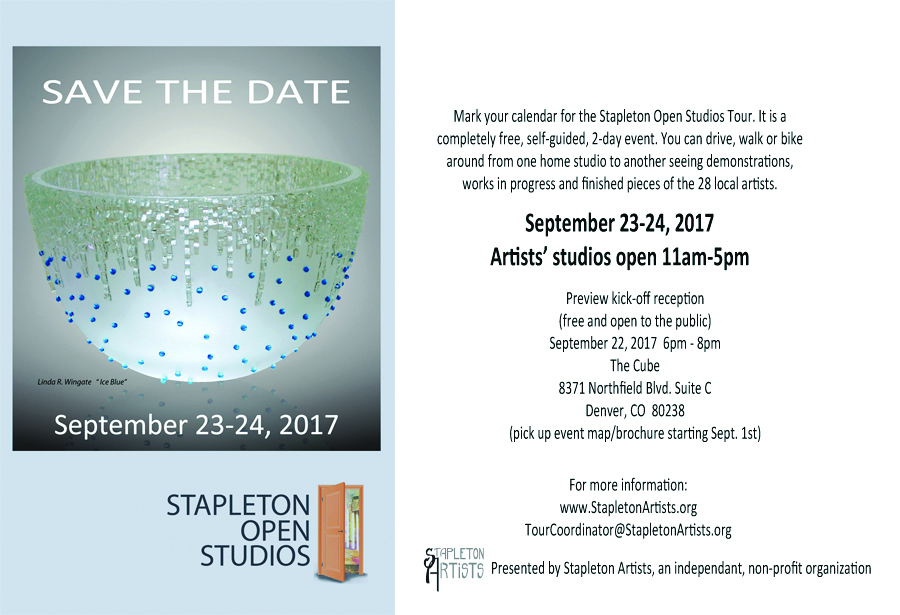 Save the Date for Open Studios