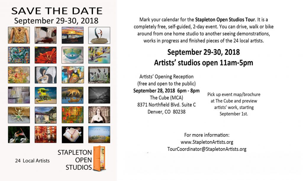Stapleton Open Studios Tour in Denver, CO