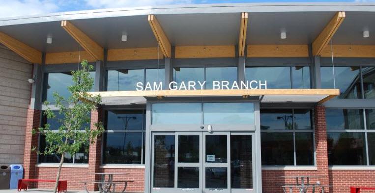 Sam Gary Branch Library 1