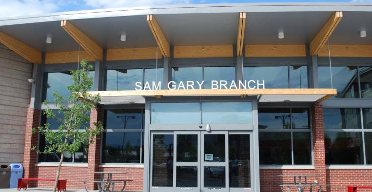 Sam Gary Branch Library 8