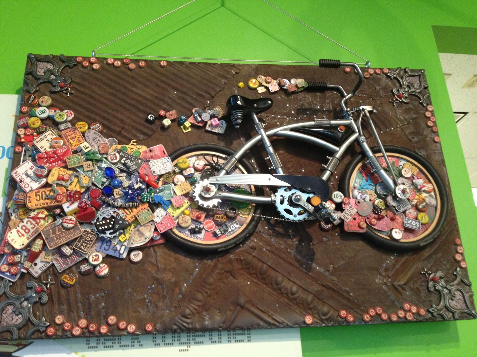 Stapleton Bike Sculpture 0