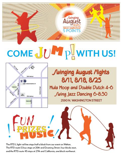 Swinging August Nights in Denver, CO