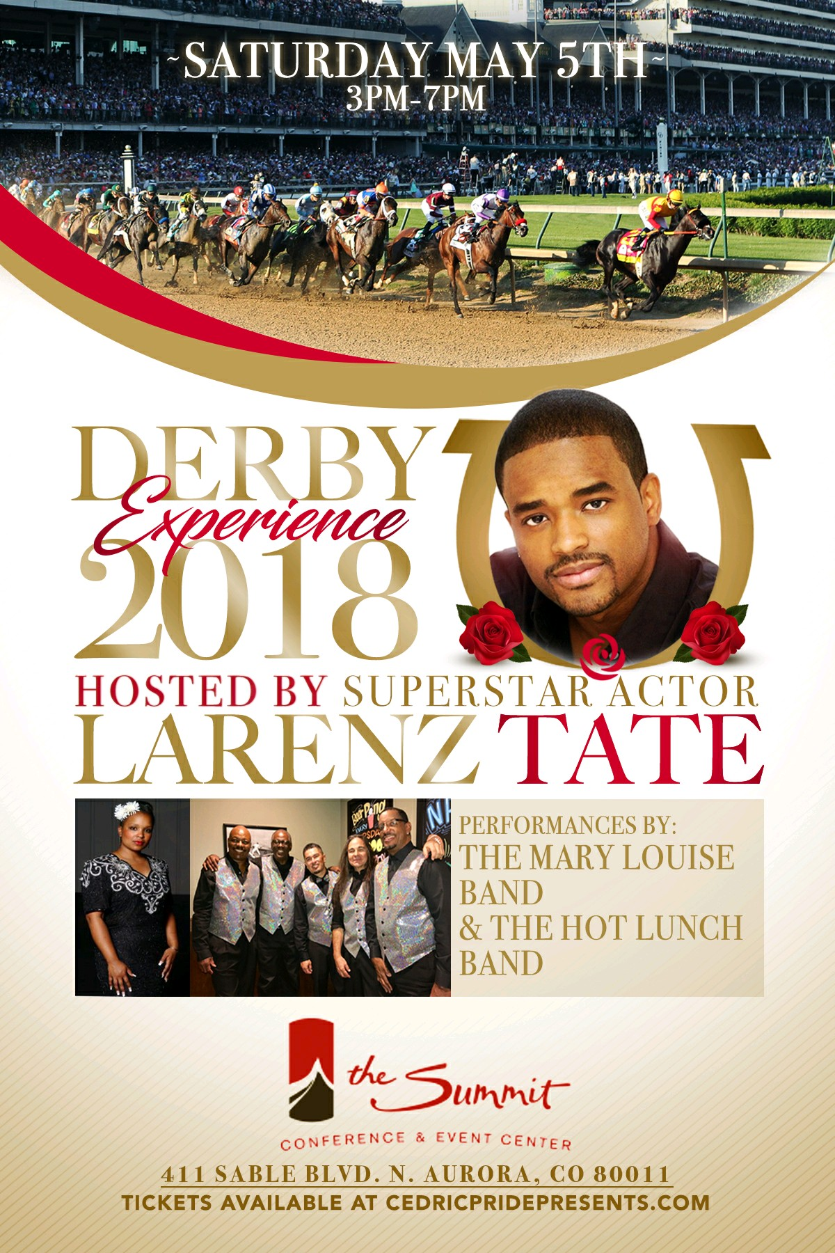 Cedric Pride Entertainment Presents 'The Derby – A Celebration of Heritage""