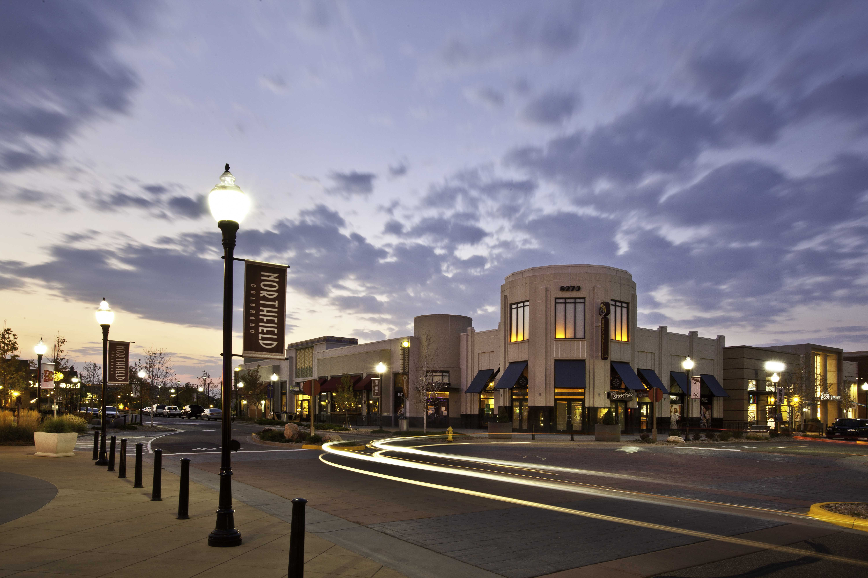The Shops at Northfield at Dusk
