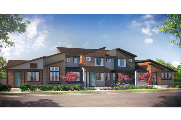 Prospect Townhomes new homes in Denver